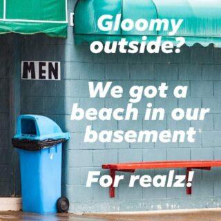 """Mariapool party tonight!  En mishmash mellan ett fejk-poolparty och en konstgjord beachfest. I vår """"basement beach"""" finns en sandstrand utan hav och badleksaker, och utan pool.För ärligt, vem vill bada när man kan dricka en """"klassisk pojkhora"""" samtidigt som man flörtar med en?Alla våra gäster erbjuds dessutom möjligheten att byta om till badkläder – changing screens and extended wardrobe folks!  Dress down for a night of pool 'n' beach hang. We expect to see you in your finest beach wear to celebrate Pride!! Side Track opens the basement """"beach"""" at 6pm and keeps it going till 1am. Just in time to walk over to KING KONG!  Our joint outdoor """"pool"""" area will be open until 01 am! So boyz n gals, don´t just get stuck in our basement all night, flount it outdoors too!  #mariapool #sidetrack_sthlm #sidetrack #gaystockholm #stockholmgayclub #Stockholmpride #stockholmpride2019 #pride #gaybar #gatpoolparty #pridestockholm"""
